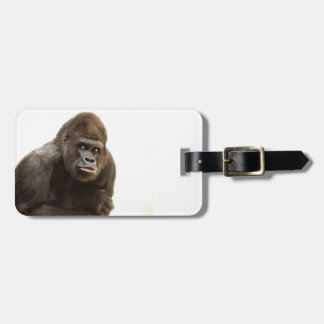 Gorilla Pout Luggage Tag