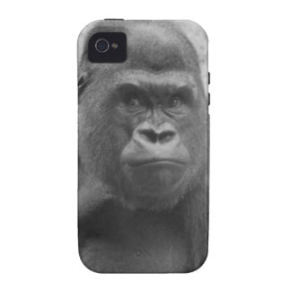 Gorilla Print Vibe iPhone 4 Covers