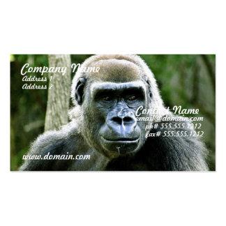 Gorilla Profile Business Card