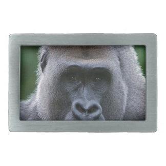"""Gorilla"" Rectangular Belt Buckle"