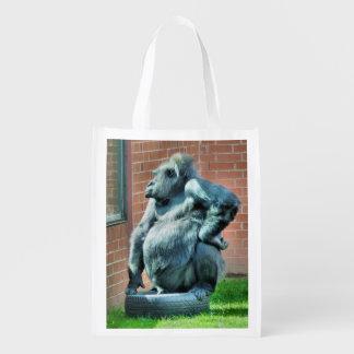 GORILLA REUSABLE GROCERY BAG