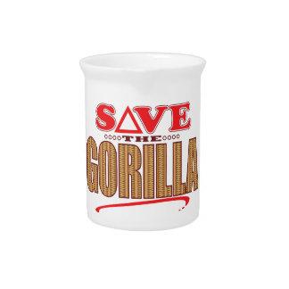 Gorilla Save Pitcher