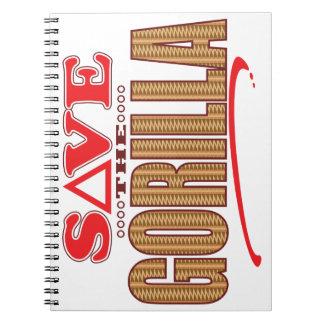 Gorilla Save Spiral Notebook