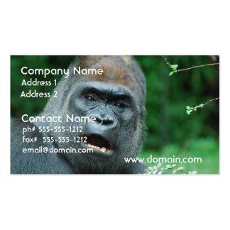 Gorilla Shock Business Card