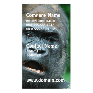 Gorilla Shock Business Card Template
