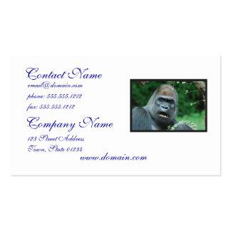 Gorilla Shock Pack Of Standard Business Cards