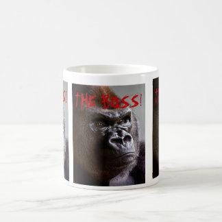 Gorilla Silverback The Boss Mugs