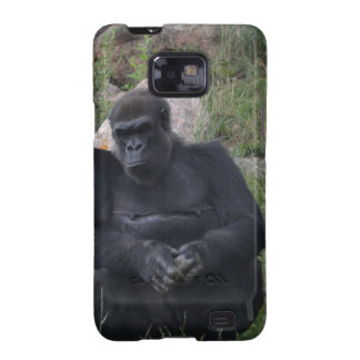 Gorilla sitting samsung galaxy SII cases