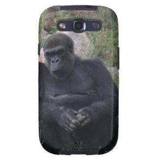 Gorilla sitting samsung galaxy SIII cases