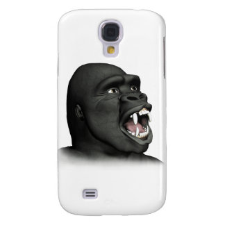 Gorilla Snarling Samsung Galaxy S4 Covers
