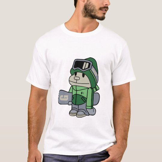 Gorilla - Snowboarder T-Shirt