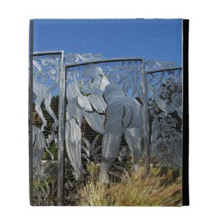 Gorilla Statue iPad Cases