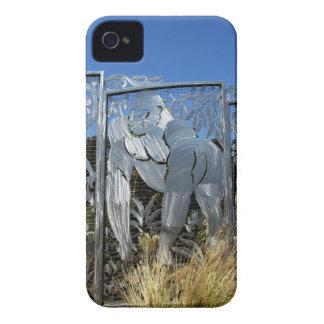 Gorilla Statue iPhone 4 Case-Mate Cases
