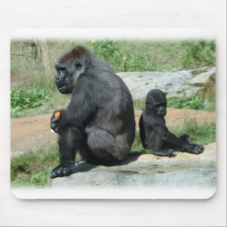Gorilla Time Out Mouse Pad