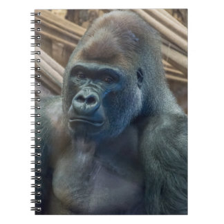 Gorilla up close notebook