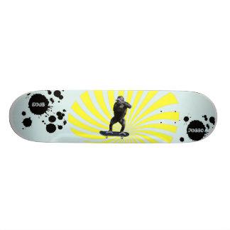 Gorilla Warp Custom Skateboard