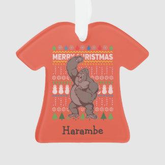 Gorilla Wildlife Merry Christmas Ugly Sweater