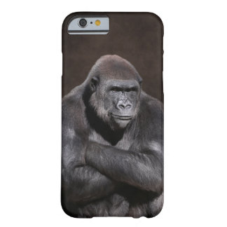 Gorilla with Attitude Barely There iPhone 6 Case