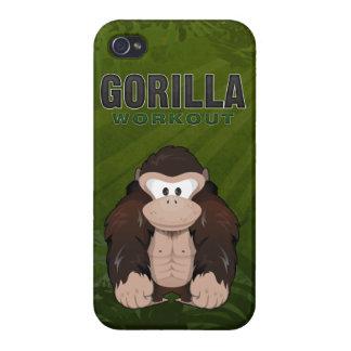 Gorilla Workout iPhone 4 Case