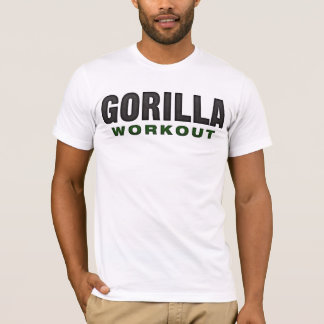 Gorilla Workout Light Apparel T-Shirt