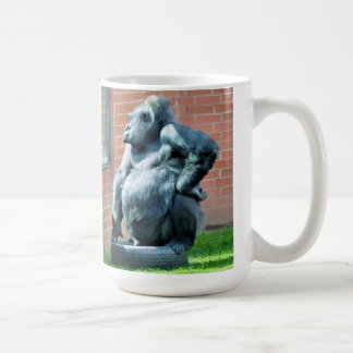 GORILLAS COFFEE MUG