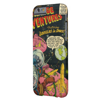 Gorillas in Space Barely There iPhone 6 Case