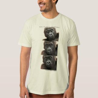 Gorillas: Save the Congo Rainforest T-Shirt