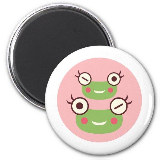 Gorl Frog 6 Cm Round Magnet