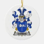 Gorman Family Crest Ornaments