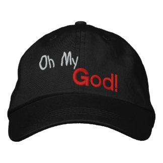 GORRA VARONIL OH MY GOD EMBROIDERED BASEBALL CAPS