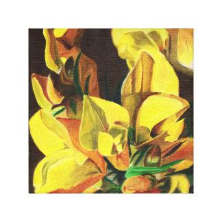 Gorse in Oil Canvas Print
