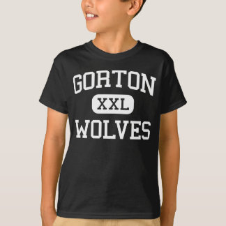 Gorton - Wolves - High School - Yonkers New York T-Shirt