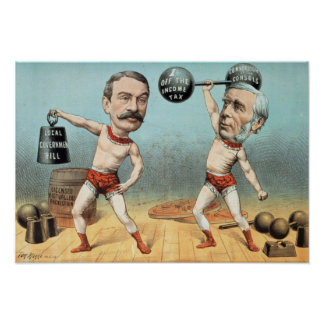 Goschen and Ritchie, the Champion Weight Poster