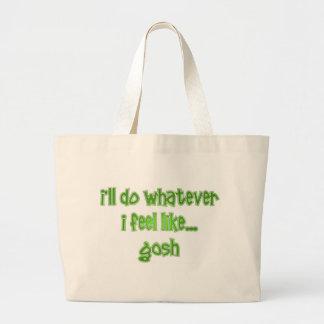Gosh Jumbo Tote Bag