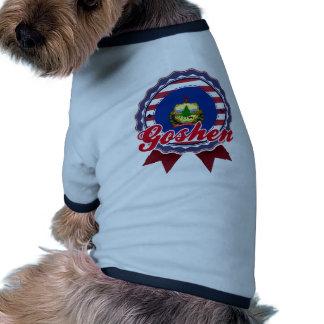 Goshen, VT Pet T-shirt