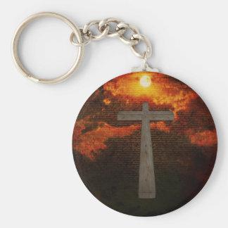 Gospel Basic Round Button Key Ring