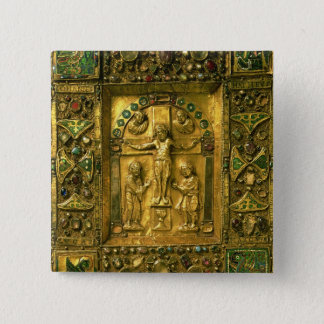 Gospel Cover, Ottonian, Germany, 11th century (gol 15 Cm Square Badge