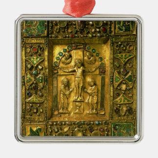 Gospel Cover, Ottonian, Germany, 11th century (gol Christmas Ornament