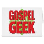 Gospel Geek v2 Greeting Card