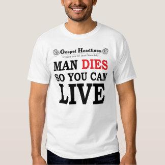 Gospel Headlines destroyed t-shirt