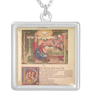 Gospel of St.Matthew, Book I Silver Plated Necklace