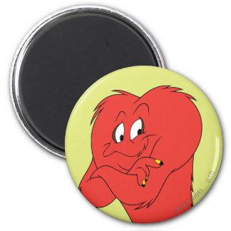 Gossamer Posing - Color 6 Cm Round Magnet