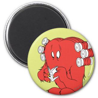 Gossamer Reading - Full Color 6 Cm Round Magnet