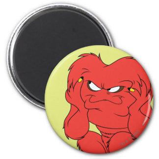 Gossamer Thinking - Color 6 Cm Round Magnet