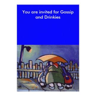 GOSSIP AND DRINKS INVITE