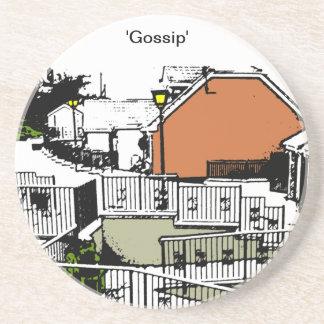 Gossip Beverage Coaster