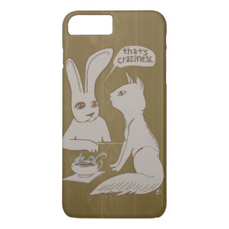 Gossip Bunny / Craziness iPhone 8 Plus/7 Plus Case