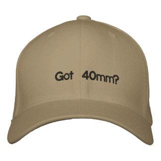 Got 40mm? baseball cap