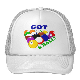 Got 8 Ball Pool Player Trucker Hat