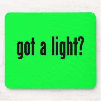 got a light mousepads